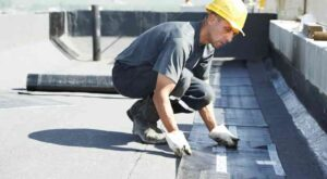 Flat roof installation in Florence SC